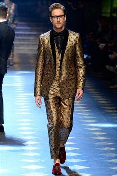 Dolce & Gabbana Fall/Winter 2017 Men's Collection
