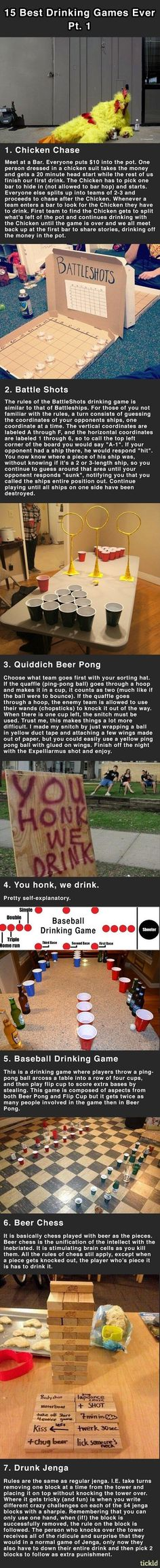 15 Awesome Drinking Games - Seriously, For Real?Seriously, For Real?