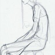 Irina Ternauciuc – Fashion sketch 19