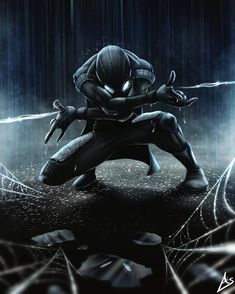 spider man is my favorite fictional charter because I really like the spider man movies and the comics Black Spiderman, Amazing Spiderman, Spiderman Noir, Spiderman Art, Spiderman Suits, Hulk Art, Marvel 2099, Marvel Dc Comics, Marvel Heroes