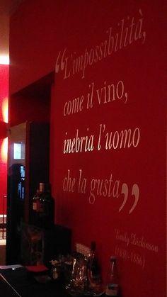 """""""L'impossibilità, come il #vino, inebria l'uomo che la gusta"""""""