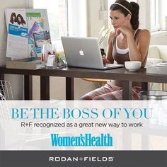 """Women's Health featured Rodan + Fields in its July issue, highlighting the """"überpersonalized service"""" offered by Consultants as a """"special perk"""" unique to the brand---for a truly one-of-a-kind social commerce experience.   This article shares the totally mobile capacity of our R+F Business and how valuable you time really is, (and dubs REDEFINE Triple Defense Treatment as a """"fan favorite"""").   I have capacity to train 2 new team members in July!    Are you going to be one of them?"""