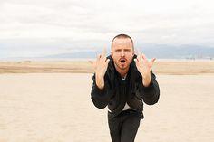 Aaron Paul (Breaking Bad) in Venice: Man, I feel like this OFTEN!