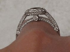 tiffany legend ornate engagement ring | Engagement Rings - Basic Mounting Styles | PriceScope