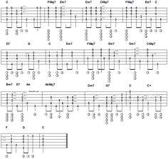 What A Wonderful World - fingerstyle guitar Part 2