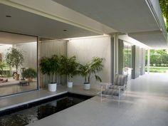 Miller House designed by Eero Saarinen in Columbus, Indiana.