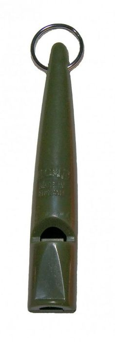 Acme High Pitch Dog Training Whistle 210 5 Olive Ultra high pitch without a pea Produces a solid single high frequency