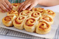 Ham & Tomato cheese scrolls - consider substituting mayo and mustard for tomato sauce. These delightful scrolls are the perfect size for school lunch-boxes.
