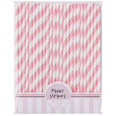'Pink N Mix' Straws