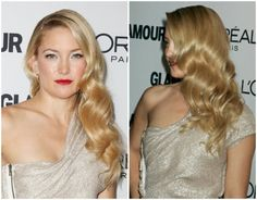 Kate Hudson looking like a true Hollywood icon