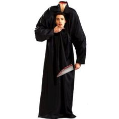 Forum Novelties Headless Man Adult Costume.  $71.90            Includes: Harness and robe. Butcher knife not included.