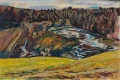 Henrik Sørensen, «Tidlig vår, Hakadal» Norway, Painting, Design, Art, Art Background, Painting Art, Kunst, Gcse Art, Paintings