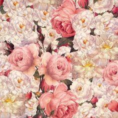 "Cabbage Roses Italian Paper 19.5"" x 13.5"" ~ Tassotti [My Favorite]"