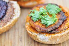 Roasted Beet and Sweet Potato Sliders