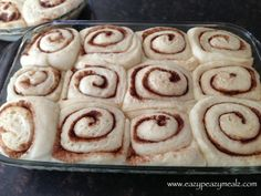 overnight cinnamon rolls- used a little less sugar than in recipe and did a glaze instead of frosting. yum!