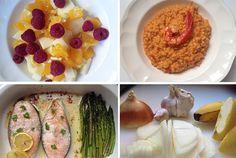 Recomendaciones para planificar un menú saludable Organización en Casa Organización Familiar