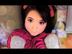 Japanese Idol Makeup 【アイドルみたいになる方法】 - YouTube