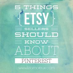 A few things for Etsy sellers (and other small businesses) to think about when using Pinterest. :: One way I'm using Pinterest for good is sharing what I'm learning. Come over and join the conversation.
