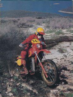 ba10b583105fb 1982 Maico 490E. This is from a Dirt Bike magazine photo shoot. Tom Webb