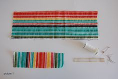 Make this out of the same upcycled material used for a DIY scarf for a coordinated outfit!