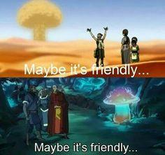 Friendly mushroom?