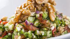 Salata sevenlere lezezetli bir öneri gavurdağı salatası.  For the ones who love salad ; here ıs the gavur salad.  #salads #californiacevizi #ceviz #californiacevizi #salatalar