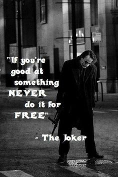 Most memorable quotes from Joker, a movie based on film. Find important Joker Quotes from film. Joker Quotes about who is the joker and why batman kill joker. Best Joker Quotes, Batman Quotes, Badass Quotes, Best Quotes, Free Quotes, Awesome Quotes, Joker Frases, Joker Heath, Joker Joker