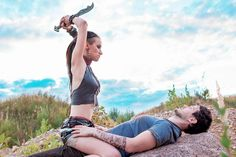 Citra and Jason (Far cry 3) by SabiNoir.deviantart.com on @DeviantArt