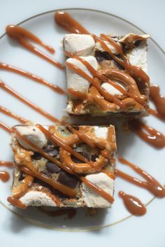 Chocolate Pretzel Crunch Bar