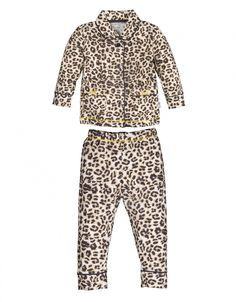 Baby Girls Pyjama - Brown Panther - 165331 # 1
