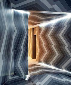Pulsate installation design by Lily Jencks & Nathanael Dorent at Capitol Designer Studio, London | Yellowtrace.