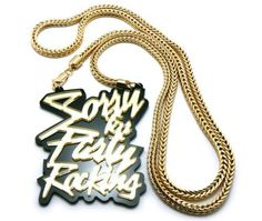 LMFAO Sorry For Party Rocking Gold Pendant and 36 Inch Franco Chain JOTW,http://www.amazon.com/dp/B005XINHCM/ref=cm_sw_r_pi_dp_S2Jwrb82181D4283