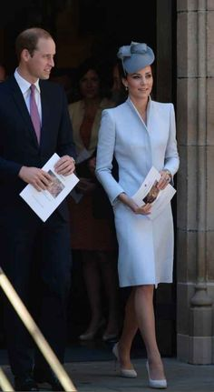 Alexander McQueen Coat And Jane Taylor Hat   The Definitive Ranking Of Kate Middleton's Royal Tour Outfits