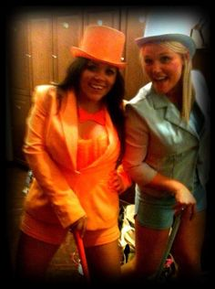 @Kerry Davis why didn't we ever do this!!!!!!!!!!!!!!!!!!!!!!!!!!! Dumb & Dumber #Halloween #Costumes #DIY