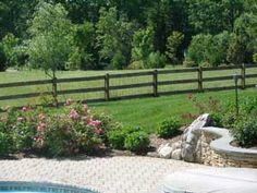 vinyl pool fence ideas - Google Search