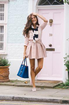 The Ivy Garden, Chelsea - The Londoner--the pink door <3