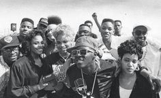 Hip hop legends: Public Enemy, Slick Rick, Salt N Pepa, Jazzy Jeff & Fresh Prince (Will Smith)