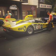 renault alpine A442B le mans winner 1978 pironi/jassaud le mans miniatures slot car #lemansminiatures #slotcar #slotcars #slotracing #lemans24 #renault #alpine#24heuresdumans #scalextric #slot.it#scx #ninco #modelcar #diorama #molettaring