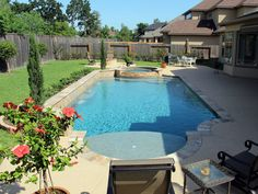 Contemporary Swimming Pools Design 168 — Custom Outdoors