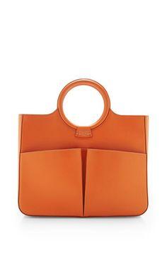 Fairchild Baldwin Victoria Bag In Orange by Fairchild Baldwin for Preorder on Moda Operandi