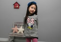 Korea children's No.1 Shopping Mall. EASY & LOVELY STYLE [COOKIE HOUSE] Sweet thanks dangara Long tee / Size : 5-13 / Price : 29.00 USD #dailylook #dailyfashion #fashionitem  #kids #kidsfashion #tops #longT #TEE #MTM #stripeT #dress #COOKIEHOUSE #OOTD http://en.cookiehouse.kr/ http://cn.cookiehouse.kr/ http://jp.cookiehouse.kr/