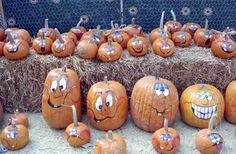 pumpkin face designs painted | ... that will help you out in the task of painting pumpkin faces