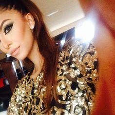 Da whole look Faryal Makhdoom Khan, Makeup Tips, Eye Makeup, Eyebrows, Eyeliner, Heavy Makeup, Mahira Khan, Imran Khan, Pakistani Actress