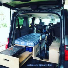 Honda Odyssey Minivan Camper Conversion Vacation Pinterest