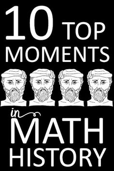 These history tidbits make a great way to engage math students and create cross-curricular learning. Zero A Written Counting System The Development of Inquiry Pythagorean Theorem Euclid Primes and GIMP Math Teacher, Math Classroom, Teaching Math, Teacher Stuff, Teaching Ideas, Teaching Strategies, Classroom Ideas, Math Resources, Math Activities