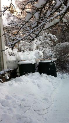 Kompostit toimii talvellakin
