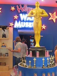 You're a winner when you visit Hollywood Wax Museum