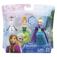 Disney Frozen Character Giftset with Anna, Elsa, and Olaf