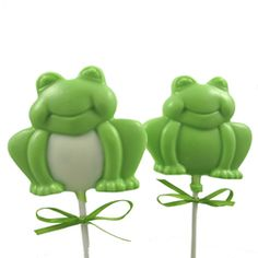 - Large Frog Chocolate Lollipop Mold