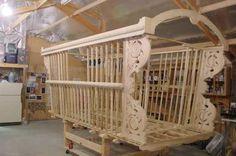 Gypsy wagon frame. Nice Scroll Work!
